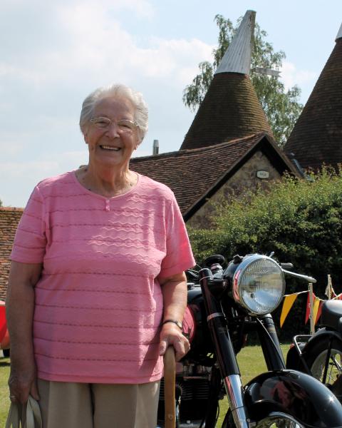 Granny at the West Peckham Fete